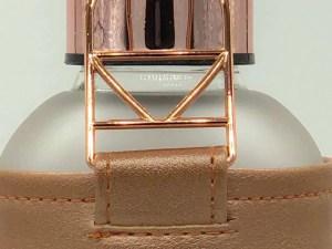 botella de gua rose gold