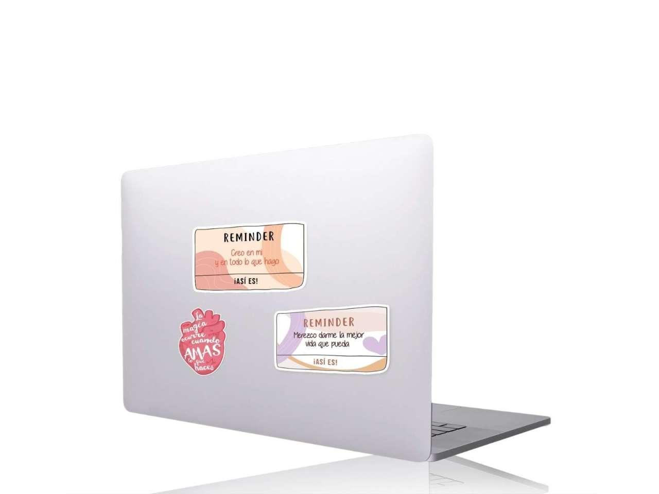 Stickers en vinil para computadora