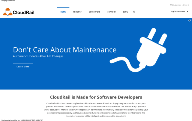 CloudRail – The Universal API