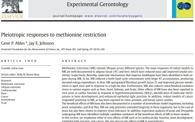 In Review: The Many Effects of Methionine Restriction