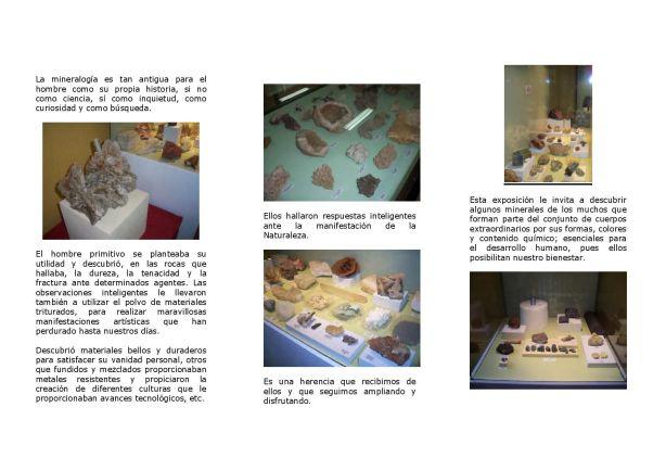 Fernan Caballero Geology Museum Leaflet