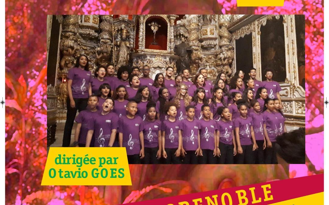 Concert de la chorale du mouvement pro-crianças samedi 11 mai 20h30