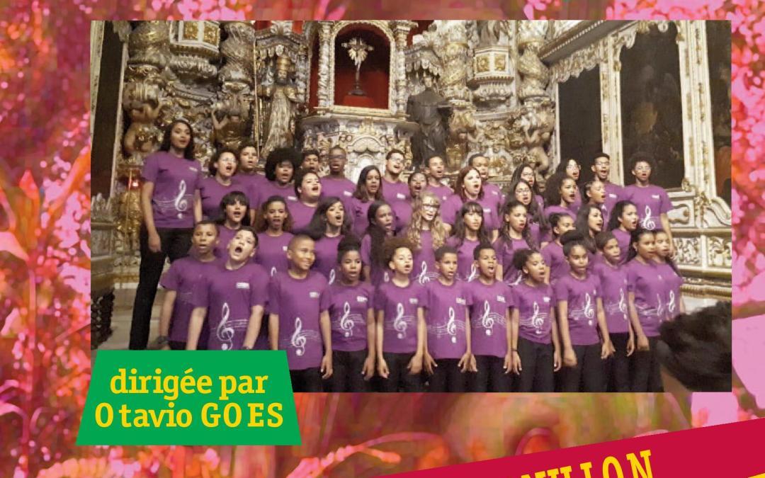 Concert de la chorale du mouvement pro-crianças jeudi 16 mai 18h