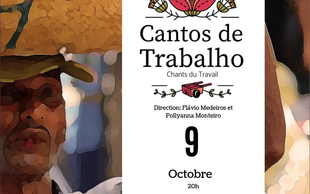 Cantos de Trabahlo mercredi 9 octobre 2019 20h