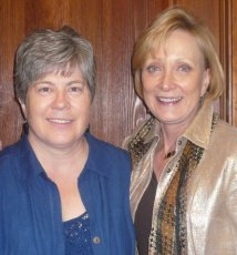 Hazel Thornton and Sandy Dixon