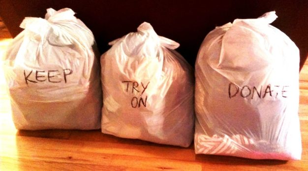 keep tryon donate bags