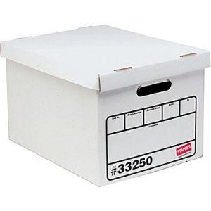 Staples storage box