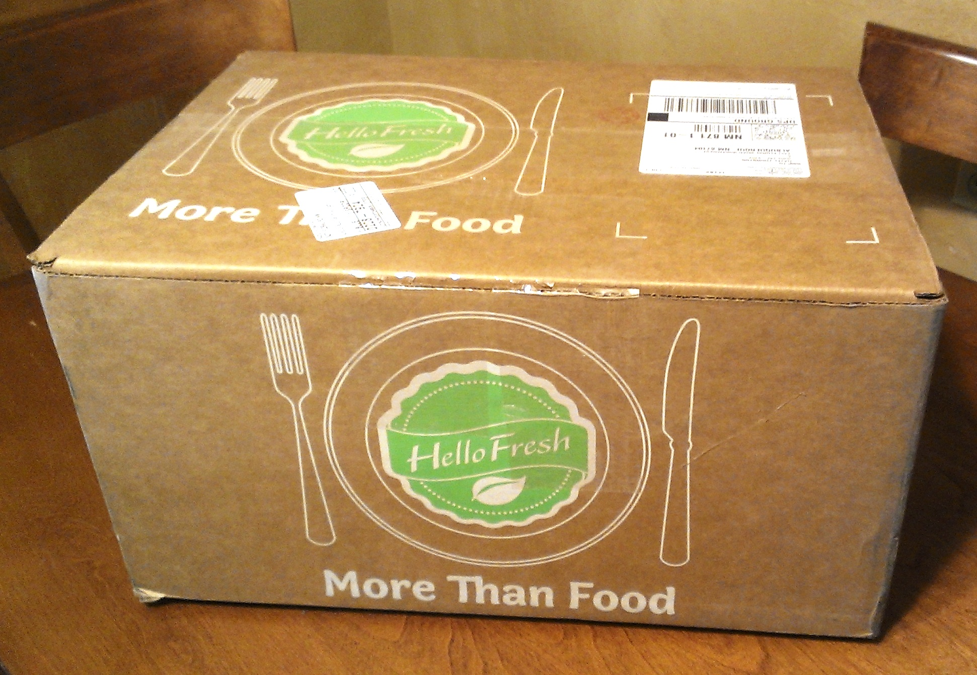 Some Of Hello Fresh Packaging