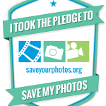 "Take the Pledge! Free ""Save Your Photos"" Program in September!"