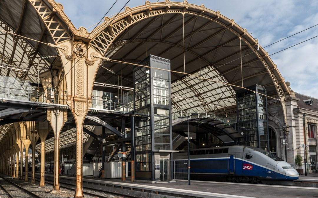 Accessibilité PMR de la gare de Nice