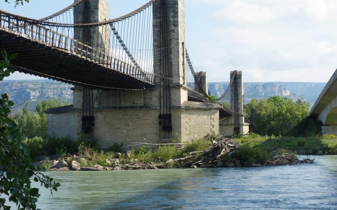 Mallemort Pont Suspendu