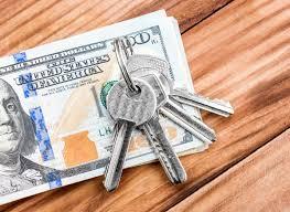 money and house keys