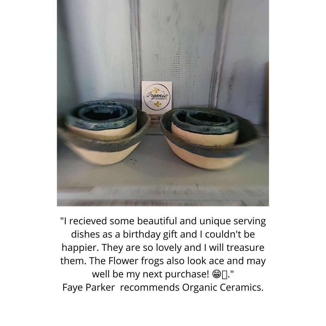 ceramic bowl testimonial