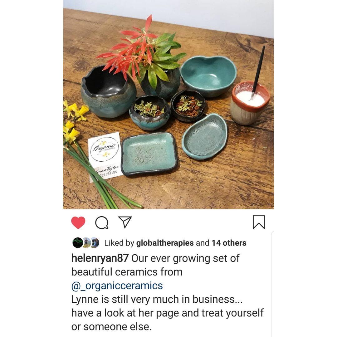 ceramic bowl vase testimonial