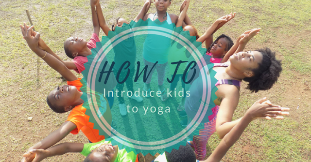 Introduce Yoga to kids
