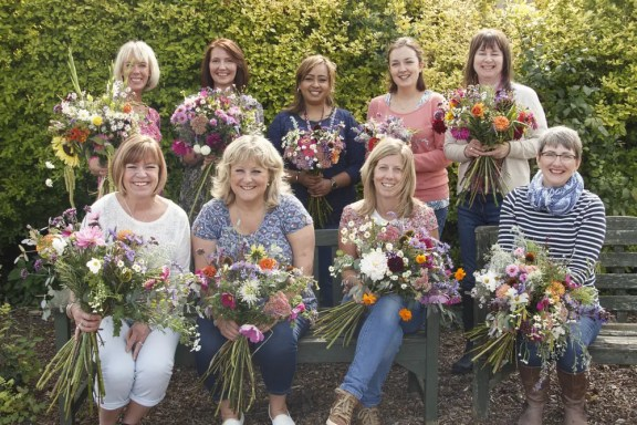 Create your own hand tied bouquet workshop