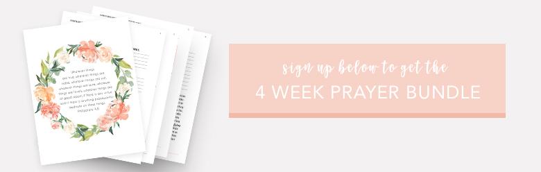 4 Week Prayer Challenge: Praying The Scriptures | Organic