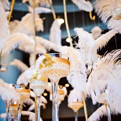 White Ostrich Feathers