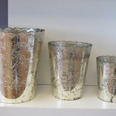 Silver Mercury Mint Julep Cups