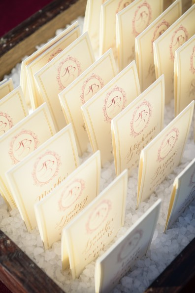 Escort Card Boxes and Fills