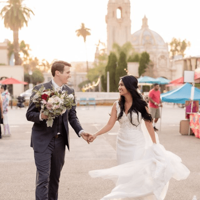 """Screenshot_2020-03-19 Sweet Blossom Weddings on Instagram """"Walking into the weekend like 💃🏻 Dancing through the streets o[...]"""