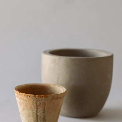 Clay and Concrete Vessels