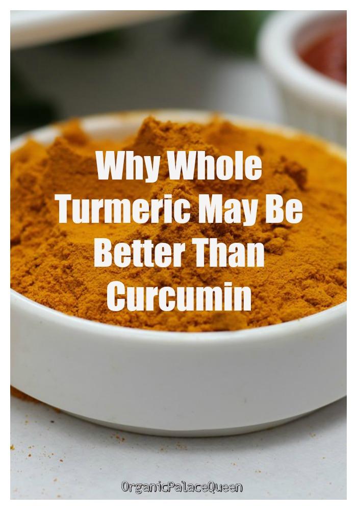 Benefits of turmeric curcumin vs turmeric