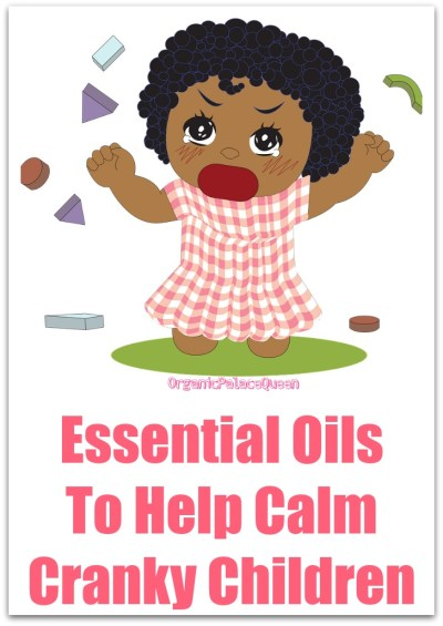 Essential oils to calm children down