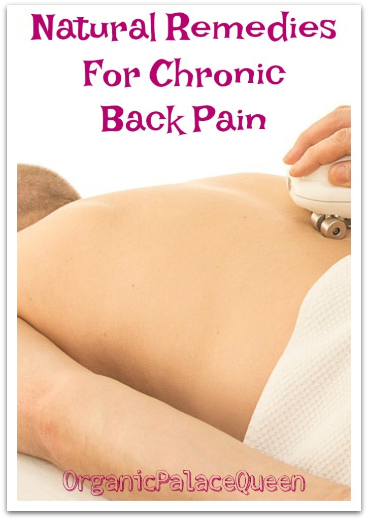 Natural remedies for back pain and inflammation