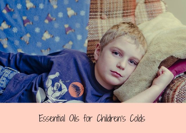 essential oils for childrens colds