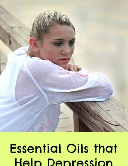 essential oils that help depression