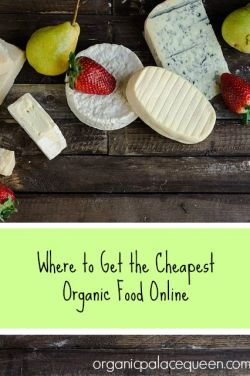 Where to get the cheapest organic food online