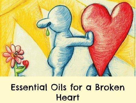 essential oils for a broken heart