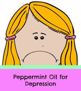 peppermint oil for depression