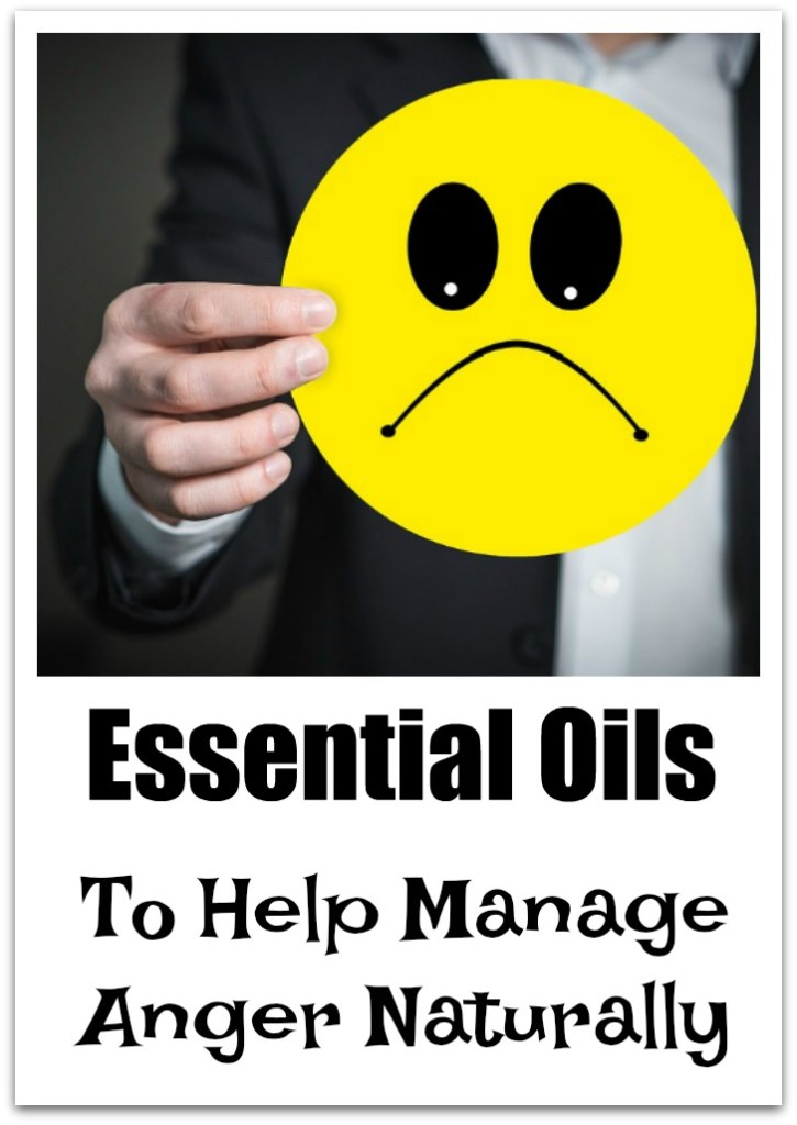 Essential oils to help get rid of anger
