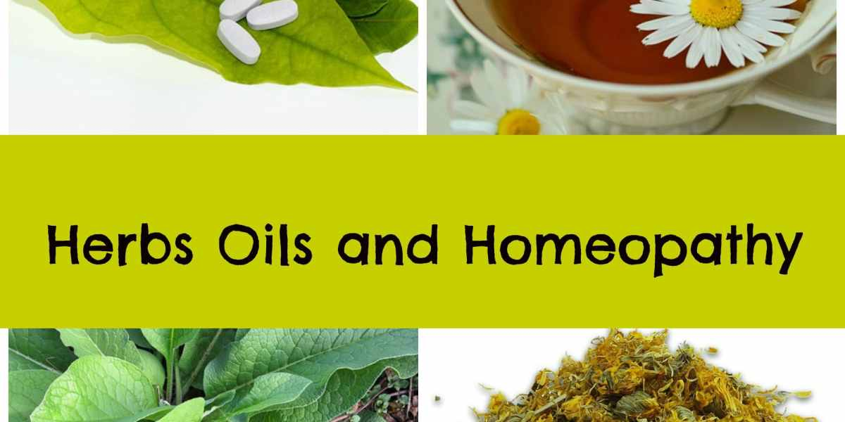Herbs and Oils for Health