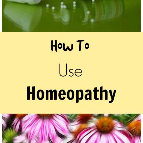 How to use homeopathic remedies