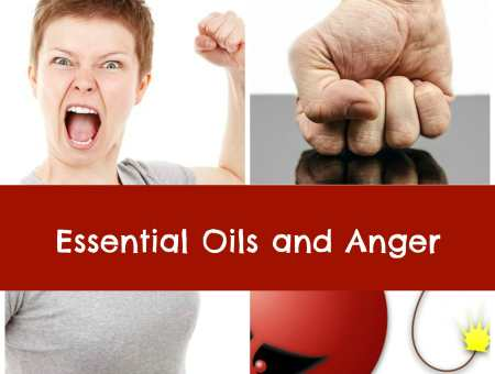essential oils and anger