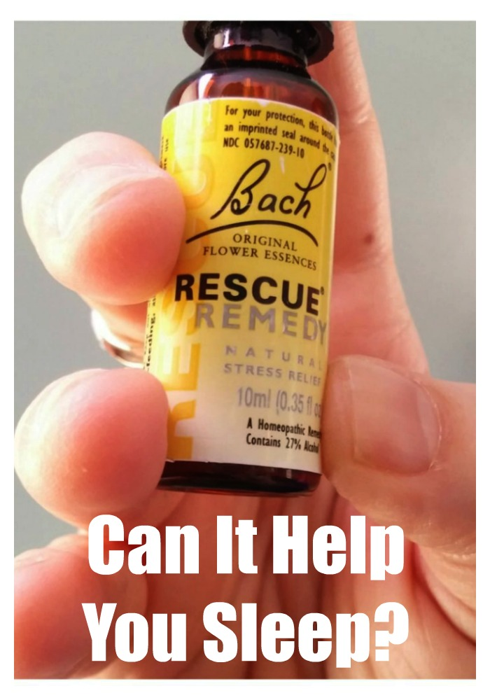 Does Bach Rescue Remedy help you sleep