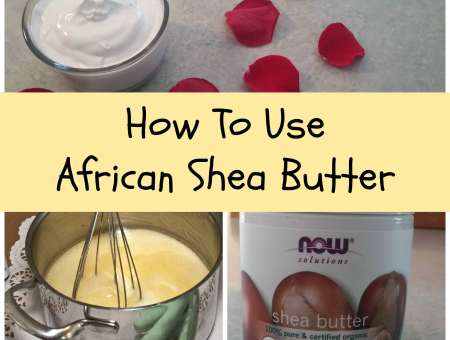 What do you use shea butter for