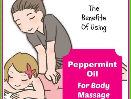 peppermint oil for massage