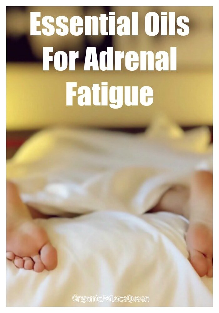 Essential oils for adrenal problems