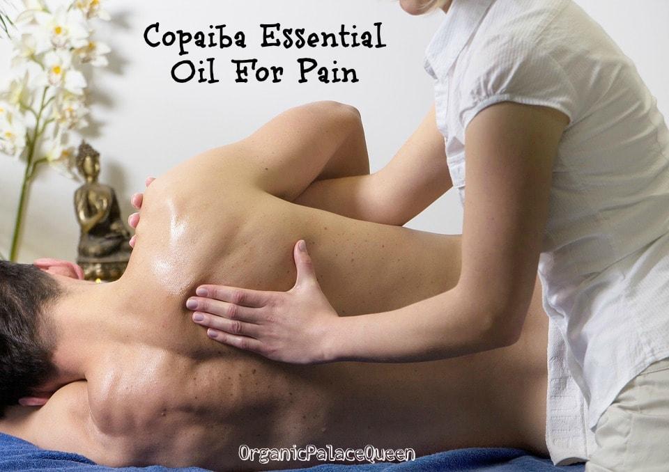 Copaiba essential oil for pain