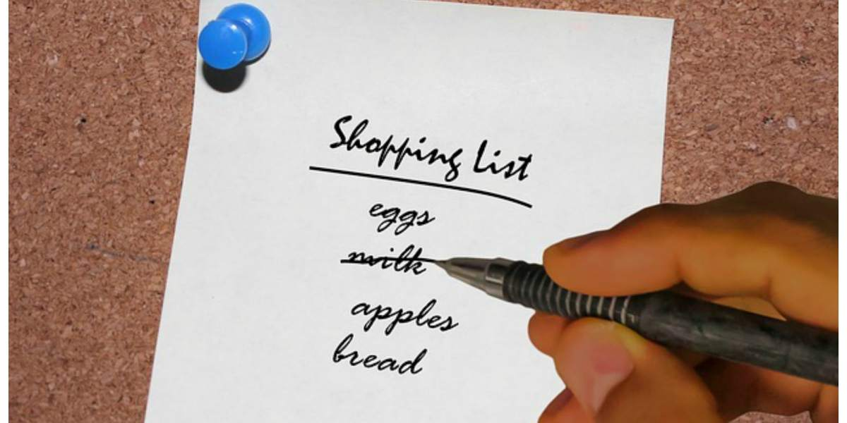 Healthy Meal Plan With Shopping List