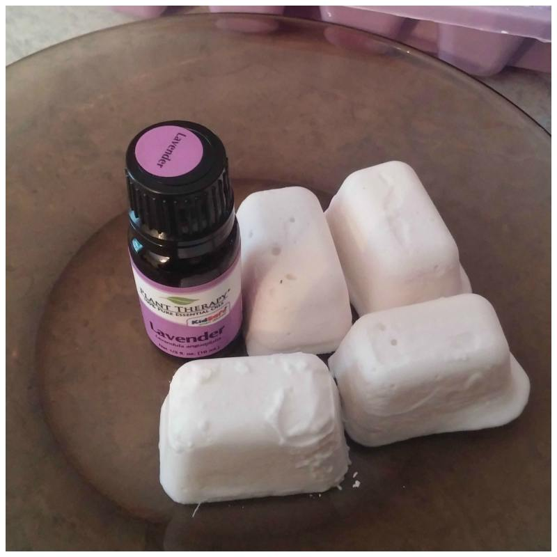 shower melts with essential oils