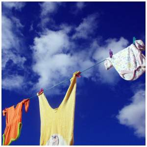 Essential oils for disinfecting laundry