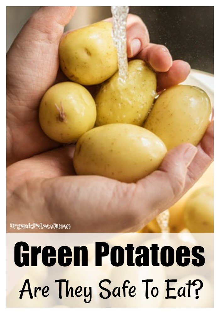 Are green potatoes safe to eat
