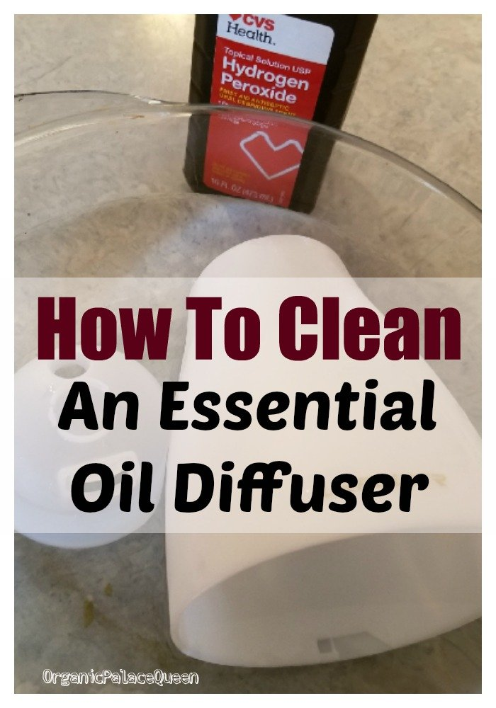 How to clean an essential oil diffuser