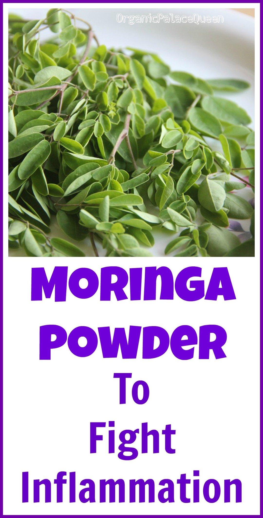 Can moringa powder help inflammation