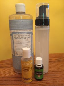 diy hand soap with essential oils